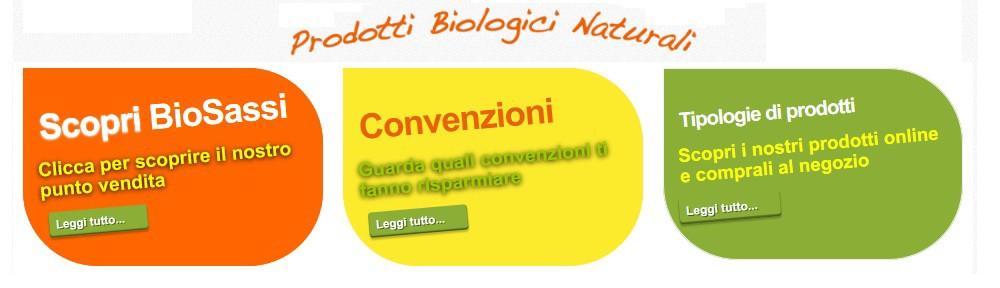 BioSassi, Prodotti Biologici Naturali